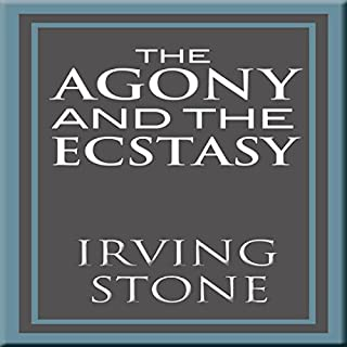 The Agony and the Ecstasy audiobook cover art