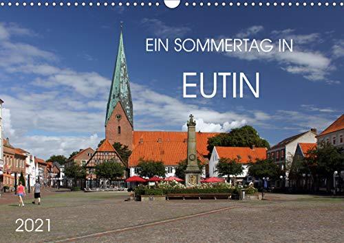 Ein Sommertag in Eutin (Wandkalender 2021 DIN A3 quer)