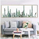 Ywsen Leinwand Malerei Wandkunst Nordic Poster Bild Kaktus