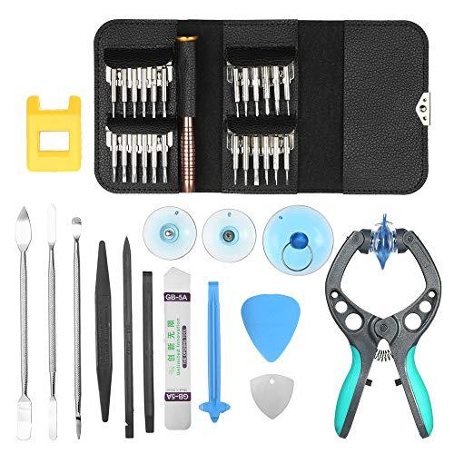 NOBGP Mobiele Telefoon Reparatie Tool Kit, Professionele 38 in 1 Schroevendraaier Set voor Computer, Horloge, Laptop, Android/ios telefoons, Tabletten En Game Console, Electronics