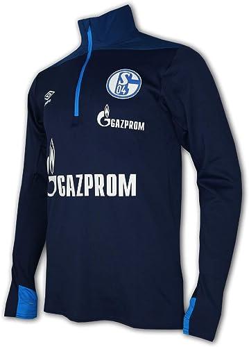 Umbro FC Schalke 04 Maillot de Football Bleu