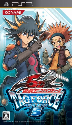 Yu-Gi-Oh! 5D's Tag Force 5 [Importación Japonesa]