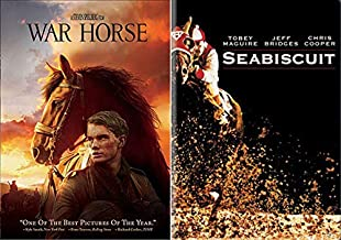 Everyone Is Talking About Equestrians 2 Movie Pack: War Horse Steven Spielberg + Seabiscuit Double Feature DVD Pack