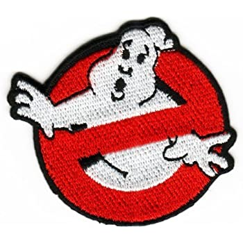 Ghost Busters Costume Accurate Name and Logo Patch Set Patch ricamato distintivo