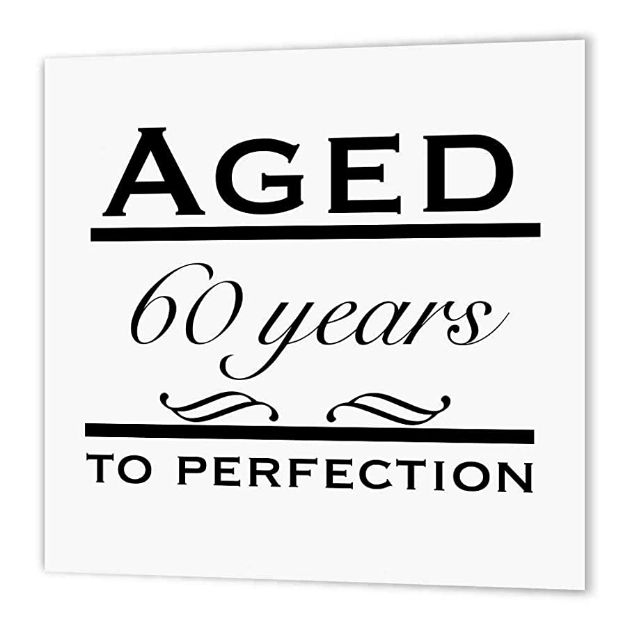 3dRose ht_157397_2 Aged 60 Years to Perfection Iron on Heat Transfer Paper for White Material, 6 by 6