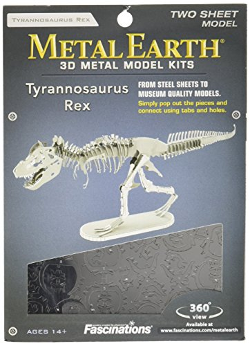 Fascinations Metal Earth - Maqueta metálica Dinosaurios
