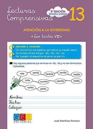 Lecturas comprensivas 13 (Niños de 9 a 10 años)