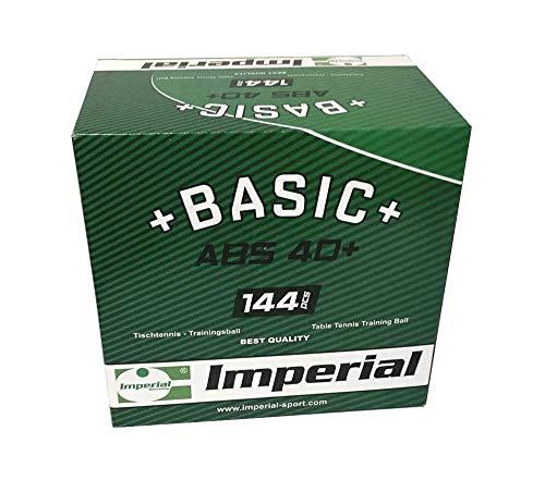 Imperial ABS Basic 40+ (144er - weiß) - Tischtennis Ball | Tischtennis Bälle | Trainingsbälle | ABS 40+ | TT-Spezial - Schütt Tischtennis