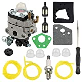 Carburetor for Honda 4 Cycle Engine GX31 GX22 FG100 16100-ZM5-803 GCA91 Carb with Carb Adjustment Tool Fuel Line Kit