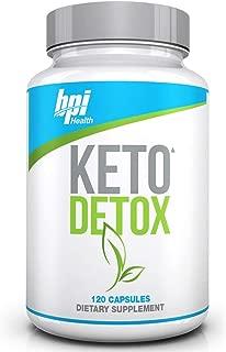 BPI Health Keto Detox - Apple Cider Vinegar, Green Tea Extract, Supports Detox & Cleanse, Weight Loss, Digestion, Ketogenic, Keto Friendly, Keto Diet,