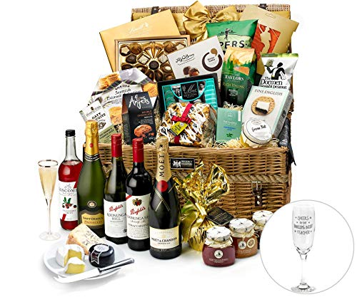 Gifts For Teachers Clarence Hamper With Moët Champagne