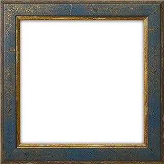 正方形額縁 9650/ブルー 150角(150×150mm) 前面ガラス仕様