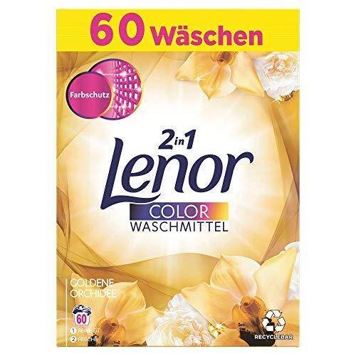 Lenor Waschmittel Goldene Orchidee Colorwaschmittel 60 Waschladungen