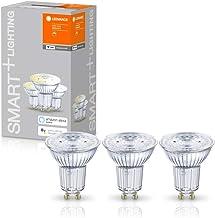 LEDVANCE LED reflectorlamp | Lampvoet: GU10 | Warm wit | 2700 K | 5 W | SMART+ WiFi SPOT GU10 Dimmable [Energie-efficiënti...