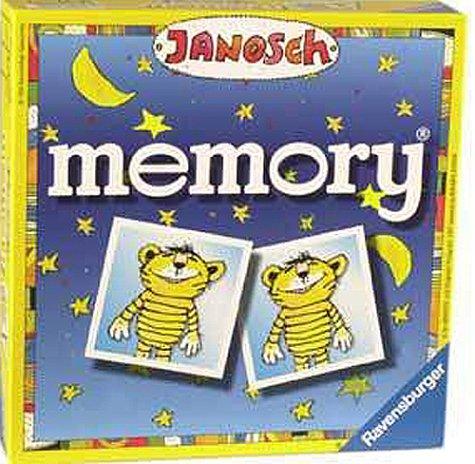 Janosch Memory. Für 2 - 8 Spieler ab 4 Jahren. Spieldauer 20 - 30 Minuten.