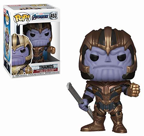 FK36672 Avengers: Endgame Pop! Marvel - Thanos Original Pop Action Figure Toys Regali Originali Figure Decorative per la casa + 3 Anni