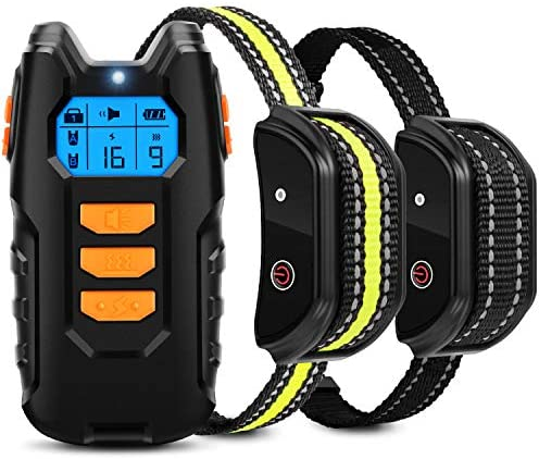 Flittor Dog Training Collar Shock Collar for Dogs with Remote 2 Receiver Rechargeable Dog Shock product image