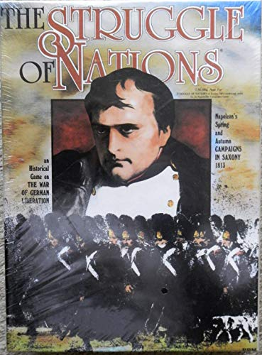 The Struggle of Nations, an Historical Game on the War of German Liberation: Napoleon's Spring and Autumn Campaigns in Saxony 1813 [BOX SET]