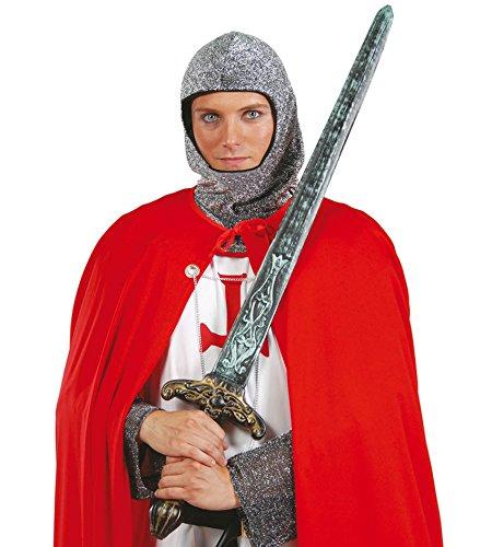 FIESTAS GUIRCA Espada de plástico Medieval Espada bárbara para el Disfraz de Cruzado Jinete