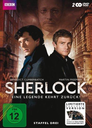 Sherlock - Staffel 3 (Limited Edition inkl. Postkartenset) (2 DVDs)