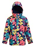 Burton Elodie Chaqueta de Snowboard, Niñas, Multicolor (Flowers), XL