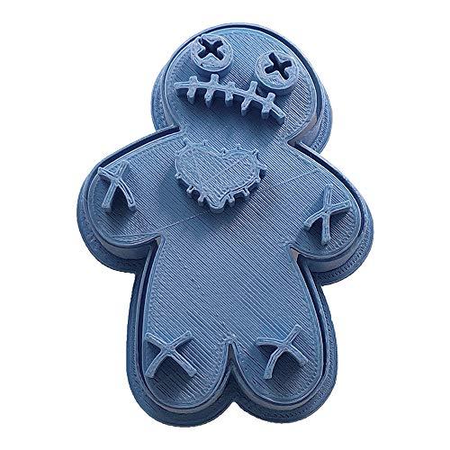 Voodoo Doll Halloween Cookie Cutter