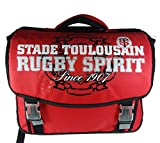 Cartable scolaire à roulettes TOULOUSE - Collection officielle STADE TOULOUSAIN - Rugby Top 14