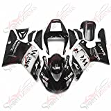 Injection Fairing Kit Fit For Yamaha YZF1000 R1 00 01 YZF R1 2000 2001 Fairings ABS Plastic Motorcycle Bodywork 2001 R1 YZF Body Kits Black White