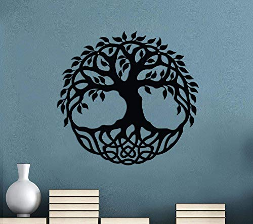 Metal Tree of Life Sign - Family Roots Sign - Indoor or Outdoor Metal Sign - Housewarming Gift - Garden Decor - Celtic Design Decor