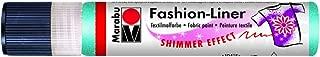 Marabu 25 Ml Fashion Liner Shimmer, Caribbean