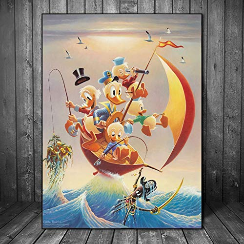 YuanMinglu Onkel Kerze tapete Poster Print Print wandkunst leinwand ölgemälde Bild Dekoration Schlafzimmer Moderne Dekoration HD rahmenlose malerei 36x45 cm