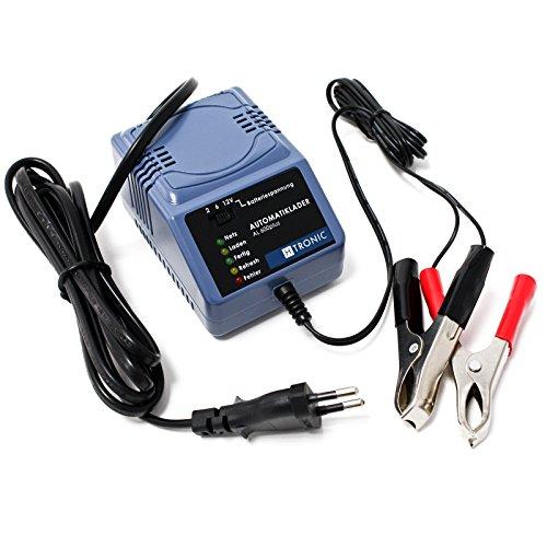 WilTec H-Tronic AL600plus Mainteneur de Charge Automatique 2V 6V 12V