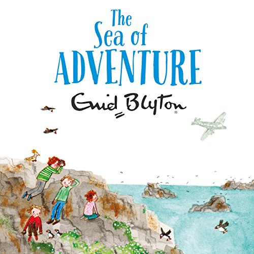 The Sea of Adventure audiobook cover art