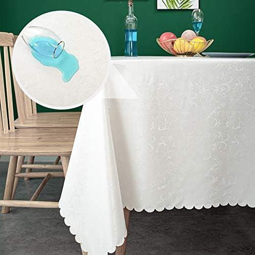 安値 sancua Waterproof Vinyl PU Tablecloth 60 84 AL完売しました。 Was Inch Durable x