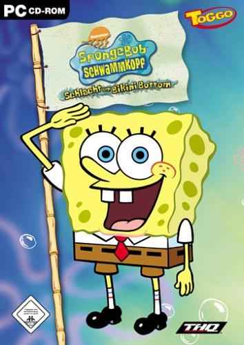 SpongeBob Schwammkopf, Schlacht um Bikini Bottom, 1 CD-ROM Für Windows 98/ME/2000/XP