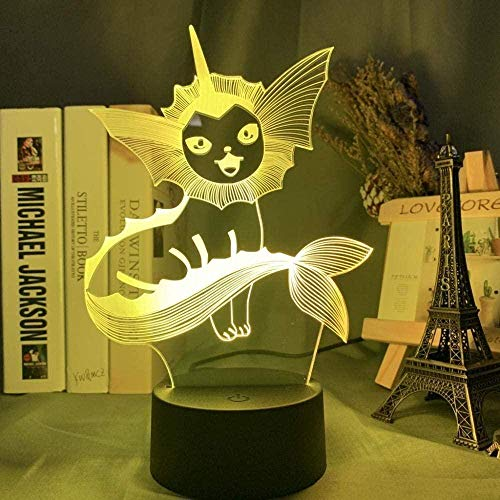 3D Led Illusion Lamp Night Light Bedside Lamp ,Kids Lamp Anime With 7 Colors Changing, Decor Lamp With Remote Control For Boys Girls Kids Gifts