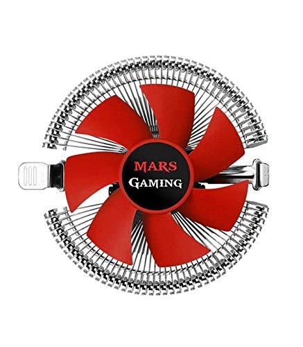 Mars Gaming MCPU1V2 Dissipatore CPU Low Profile compatibile con AMD e Intel