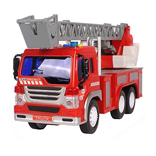 Jouets Xiaomei pour Les garçons âgés de 2 Ans, Camion de Pompiers alimentés par Friction, véhicules de...