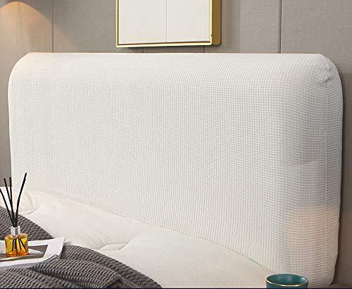 uyeoco Copertura Testiera Letto,Copri Testata Letto Fodera Elastica Vello Protezione Testata Matrimoniale Cover Cuscino Lavabile per Decorazione Camera (Color : A, Size : 180CM)