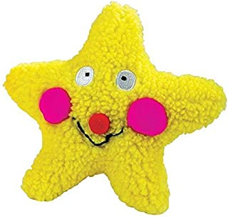 Zanies Smiling Colorful Celestial Dog Toys Berber Moon Star Sun Toy or Set of All Three(Star)