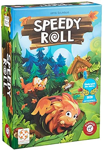 Speedy Roll - Piatnik 7168 | Kinderspiel des...