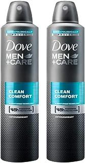 Dove Men Care Clean Comfort Spray Deodorant Pack of 2