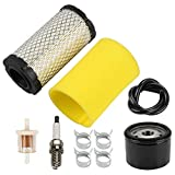 Venseri 793569 793685 Air Filter with Pre Filter Tune-Up Kit for Intek 20-21 Gross HP MIU11511 GY21055 LA125 LA115 D100 D120 D110 L100 Lawn Mower Tractor
