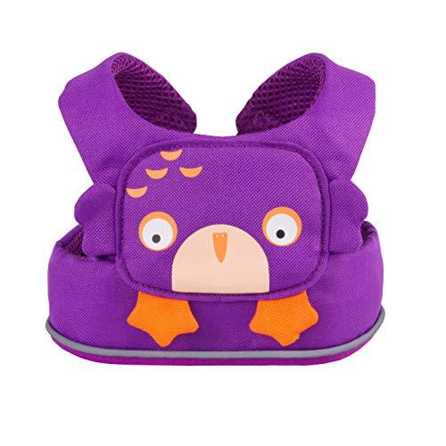 Trunki ToddlePak looplerriem voor kinderen - eenvoudig en veilig Bagageriem. 35 cm Uil Ollie (paars)