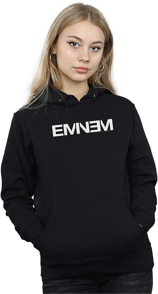 Absolute Cult Eminem Mujer Plain Text Capucha