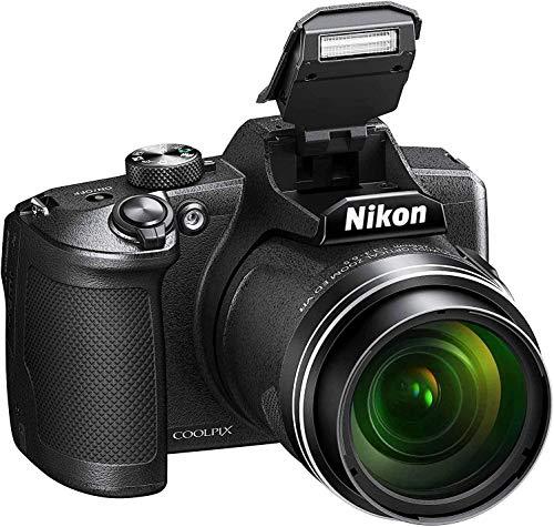 Nikon - Cámara Coolpix B600 Version Nikonistas, con Estuche, con Tarjeta, SD 16 GB, con...