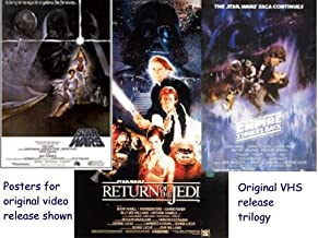 First Release: Star Wars, Empire Strkes Back, Return of the Jedi