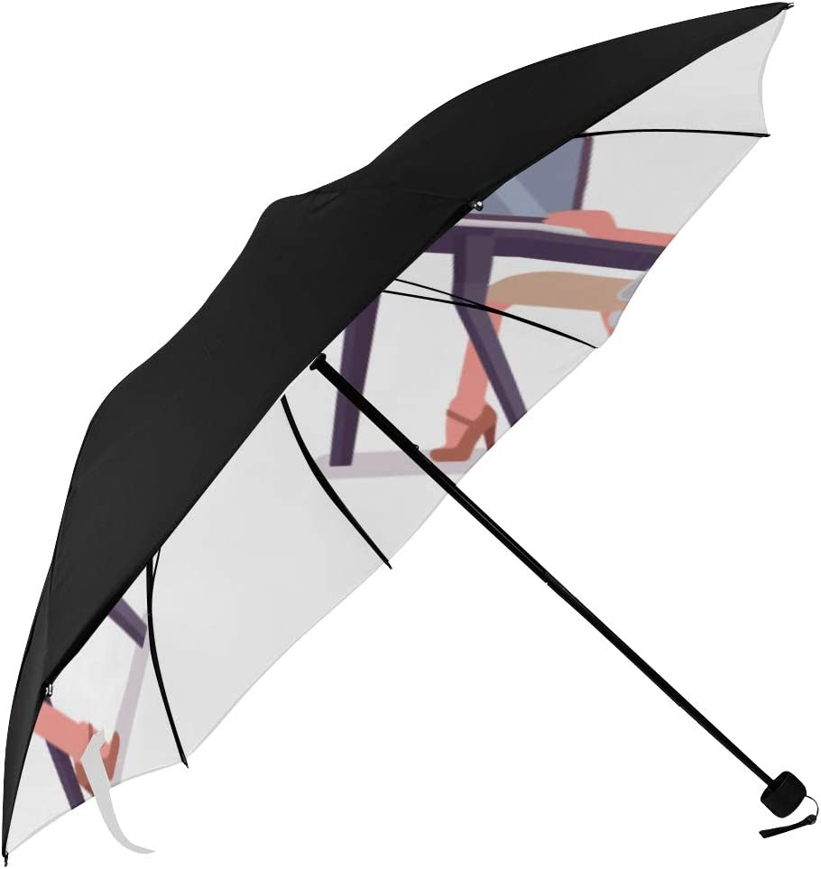 Sun Reverse Umbrella Simple Elegant Underside Outlet ☆ Free Shipping Lady Printi Office Max 58% OFF