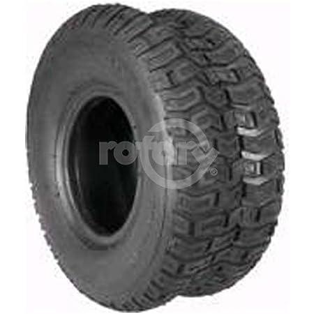 Rotary # 8920 Lawnmower Tire 15 x 600 x 6 Turf Saver II Tread Tubeless 2 Ply Carlisle Brand