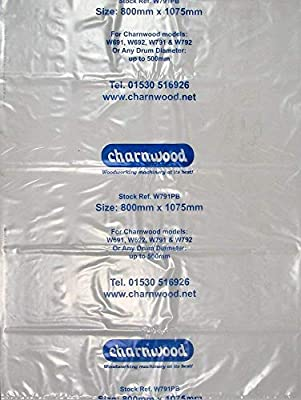 W791PB Polythene Collection Bag 30'' x 43'', pack of 10 by Charnwood